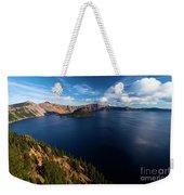 Crater Lake Blues Weekender Tote Bag