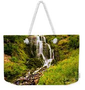Crater Lake Falls Weekender Tote Bag