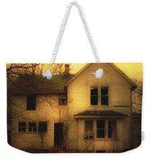 Creepy Abandoned House Weekender Tote Bag