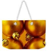 Crhistmas Decorations Weekender Tote Bag