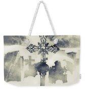 Cross Weekender Tote Bag by Joana Kruse