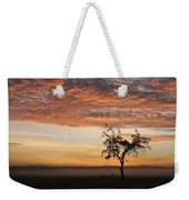 Crowned Cranes At Sunrise Weekender Tote Bag