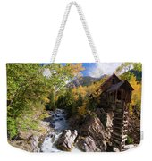 Crystal Mill Weekender Tote Bag