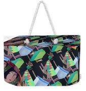 Cube Weekender Tote Bag