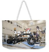 Curiosity Rover In The Testing Facility Weekender Tote Bag