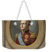 Czar Alexander I Of Russia Weekender Tote Bag