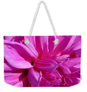 Dahlia Named Lilac Time Weekender Tote Bag