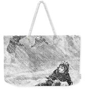 Dakota Blizzard, 1888 Weekender Tote Bag by Granger
