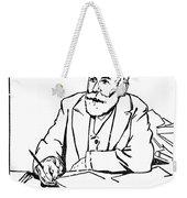 Daniel De Leon (1852-1914) Weekender Tote Bag