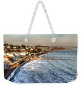 Dawlish Sea Wall Weekender Tote Bag