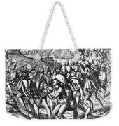 De Bry: Spanish Conquest Weekender Tote Bag