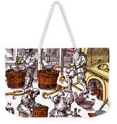 De Re Metallica, Metallurgy Workshop Weekender Tote Bag