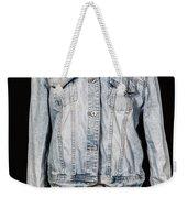 Denim Jacket Weekender Tote Bag