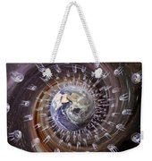 Digitally Enhanced Image Of The Earth Weekender Tote Bag