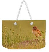 Digitally Enhanced Image With Painterly Weekender Tote Bag
