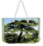 Do-00512 Cedar Forest Weekender Tote Bag