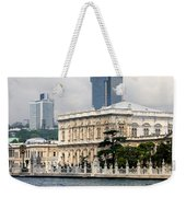 Dolmabahce Palace In Istanbul Weekender Tote Bag