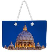 Dome San Pietro Weekender Tote Bag by Brian Jannsen