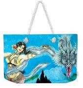 Dragon Dancer Weekender Tote Bag