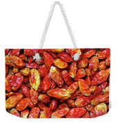 Dried Chili Peppers Weekender Tote Bag