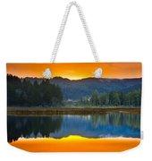 Dry Lagoon Dawn Weekender Tote Bag