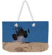 Dune Buggy Jump Weekender Tote Bag
