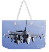 Dutch F-16ams During A Combat Air Weekender Tote Bag