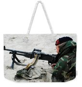 Dutch Royal Marines Taking Part Weekender Tote Bag