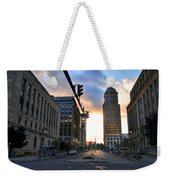 Early Morning Court Street Weekender Tote Bag