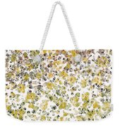 Earthtones Abstract Weekender Tote Bag