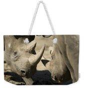 Eastern Black Rhinoceros Weekender Tote Bag