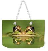 Edible Frog Rana Esculenta Weekender Tote Bag