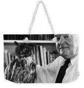 Edmund Wilson (1895-1972) Weekender Tote Bag