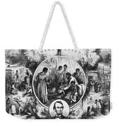 Effects Of Emancipation Proclamation Weekender Tote Bag