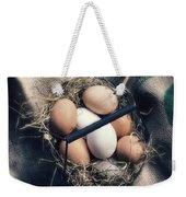 Eggs Weekender Tote Bag by Joana Kruse