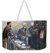 Electrocution, 1890 Weekender Tote Bag