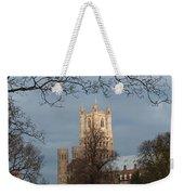 Ely Cathedral In City Of Ely Weekender Tote Bag