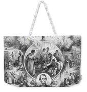Emancipation Proclamation Weekender Tote Bag