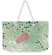 Endoplasmic Reticulum Weekender Tote Bag