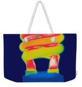 Energy Efficient Fluorescent Light Weekender Tote Bag