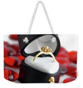 Engagement Ring Weekender Tote Bag