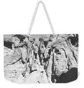 Eroded Sandstone Cliffs Weekender Tote Bag