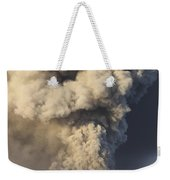 Eruption Of Ash Cloud From Mount Bromo Weekender Tote Bag