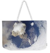 Eruption Of Sarychev Volcano Weekender Tote Bag