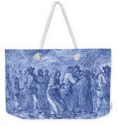 Escaping To Underground Railroad Weekender Tote Bag by Photo Researchers