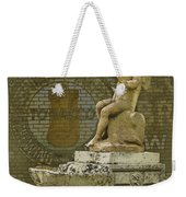 Even Angels Need A Smoke Weekender Tote Bag
