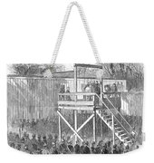 Execution Of Henry Wirz Weekender Tote Bag