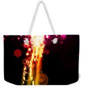 Explosion Of Lights Weekender Tote Bag