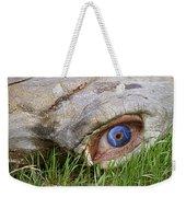 Eye Of A Dinosaur Lightning Weekender Tote Bag