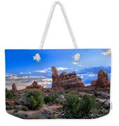 Eye View Of Arches Weekender Tote Bag